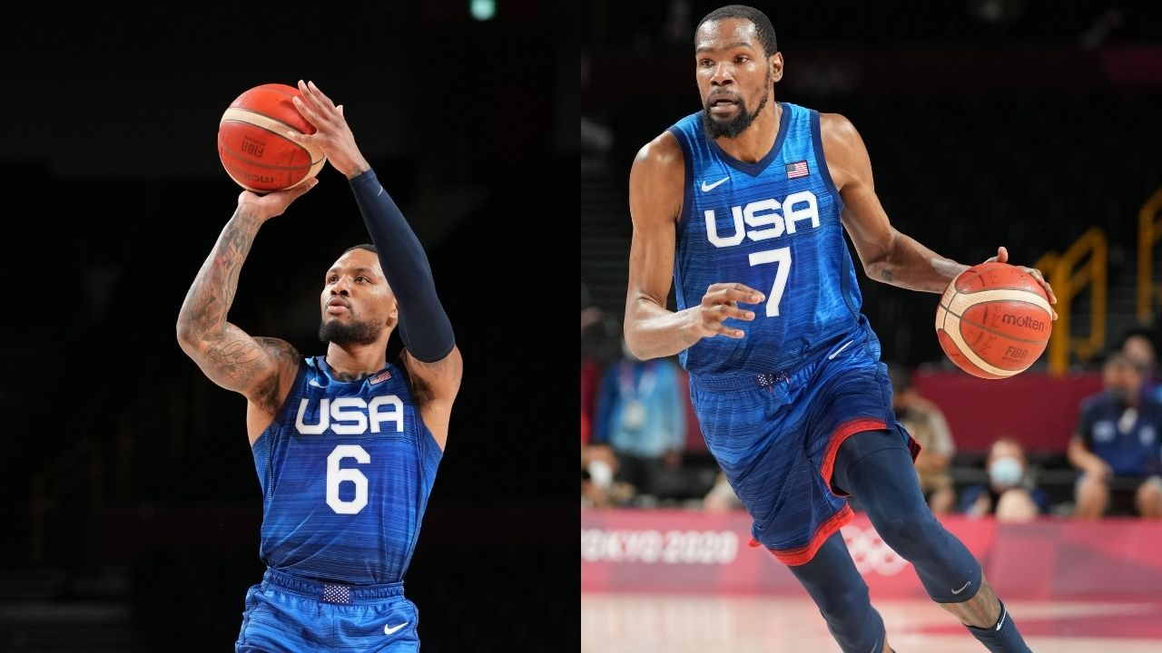 """""""Damian Lillard or Kevin Durant should hit the game-winner"""": Team USA has conflicting opinions on who needs to hit the final shot during Tokyo 2020"""