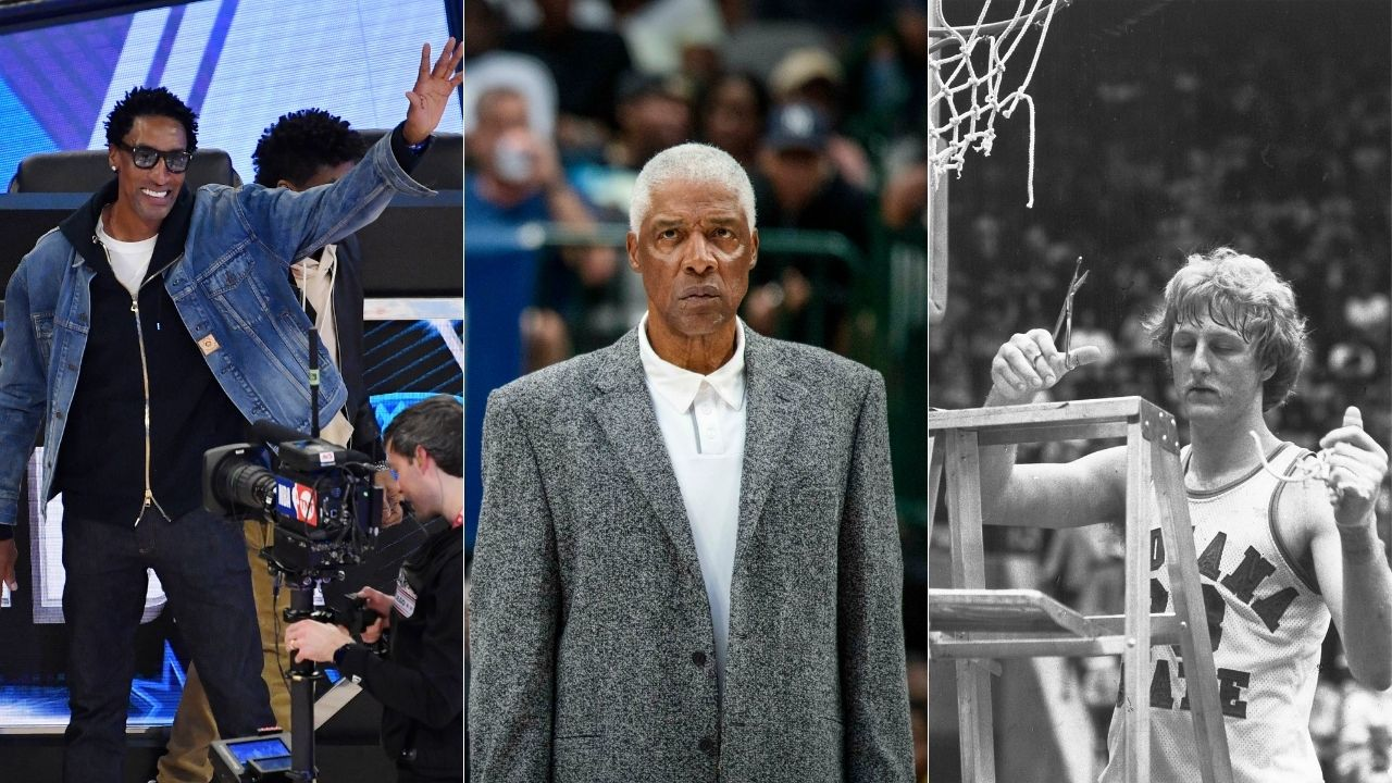 """""""Start Larry Bird, bench Scottie Pippen, cut Dr. J"""": Hall of Famer Chris Mullin questionably cuts Julius Erving for Scottie on the Knuckleheads Podcast with Q&D"""