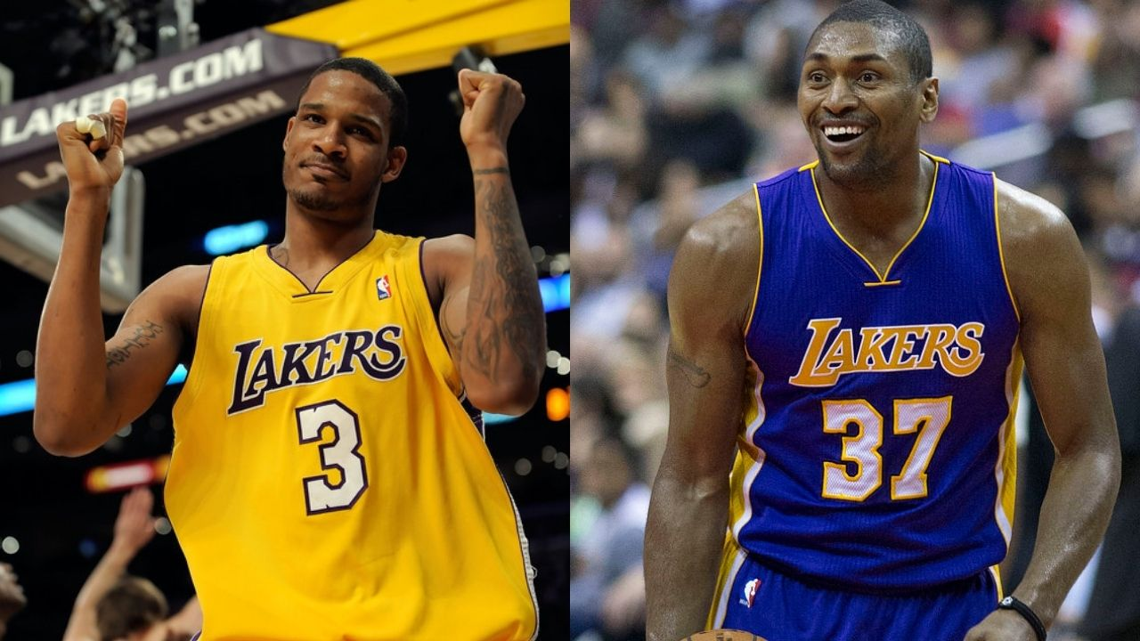 """""""Was happy for Metta World Peace to win a title with the Lakers in 2010"""": Trevor Ariza reveals there is no animosity between himself and the former Pacer forward"""