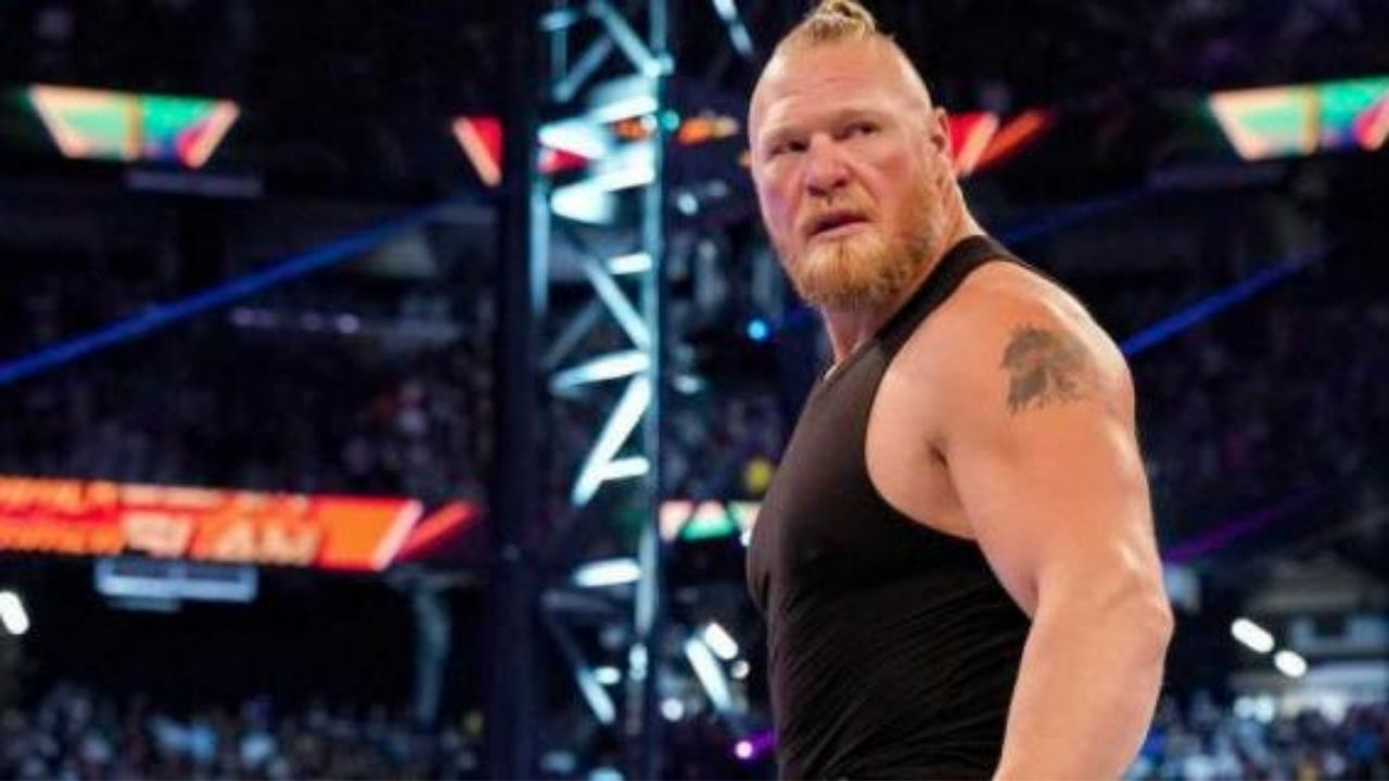 How many matches has Brock Lesnar agreed to as part of his new WWE deal