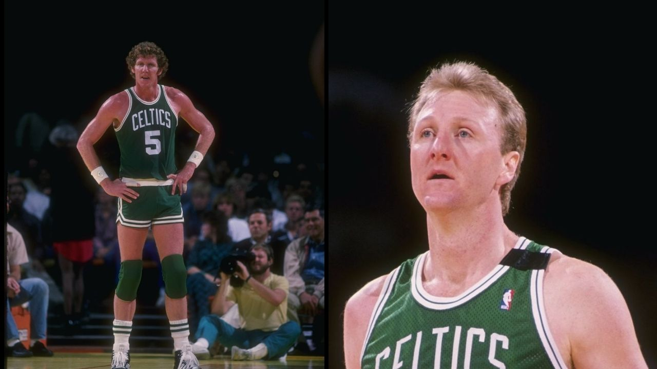 """""""If you want to stay in Boston, pass me the ball"""": When Larry Bird gave Bill Walton advice on what he should to withstand being a Celtic"""