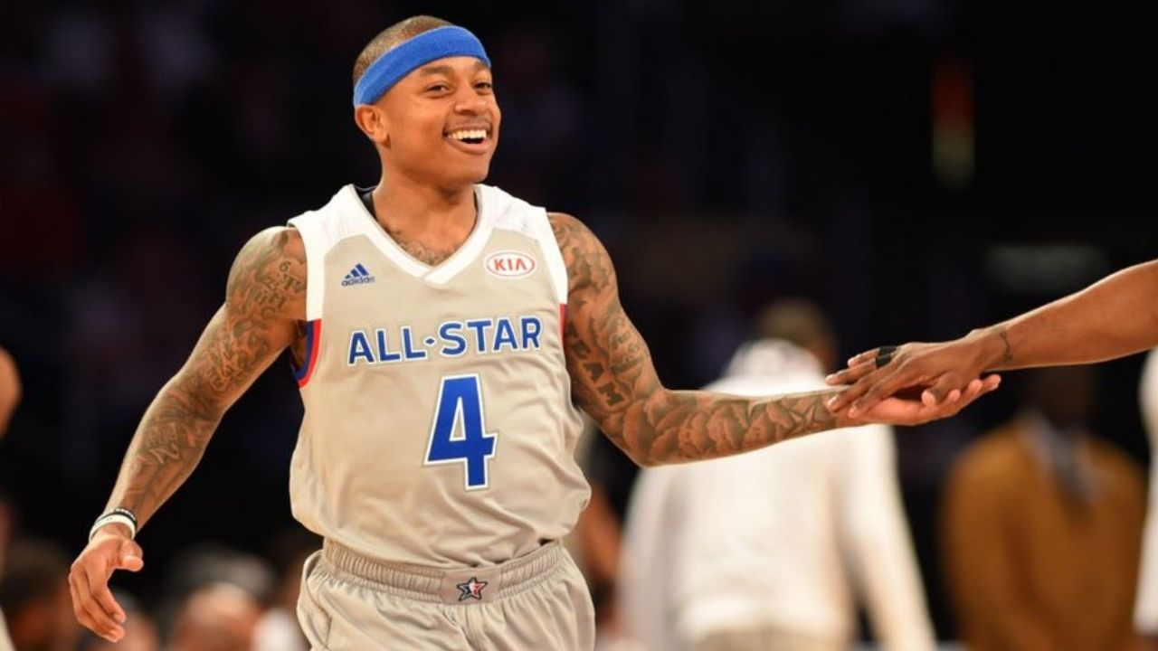 """""""They gave up on me"""": Former MVP candidate Isaiah Thomas has an emotional ride as he cries in the locker room after dropping 81 points in a Pro Am Game"""