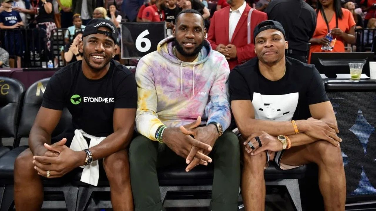 'Chris Paul spotted with Russell Westbrook in LA': Free agent CP3 is in LeBron James' city after declining $44.2 M player option with Suns