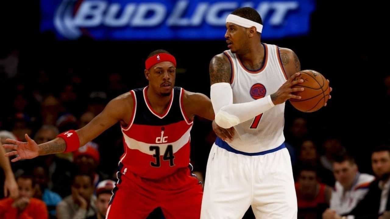 """""""Carmelo Anthony is not a fun assignment on defense"""": Paul Pierce describes how Melo could be tougher than Kobe Bryant or LeBron James to guard"""