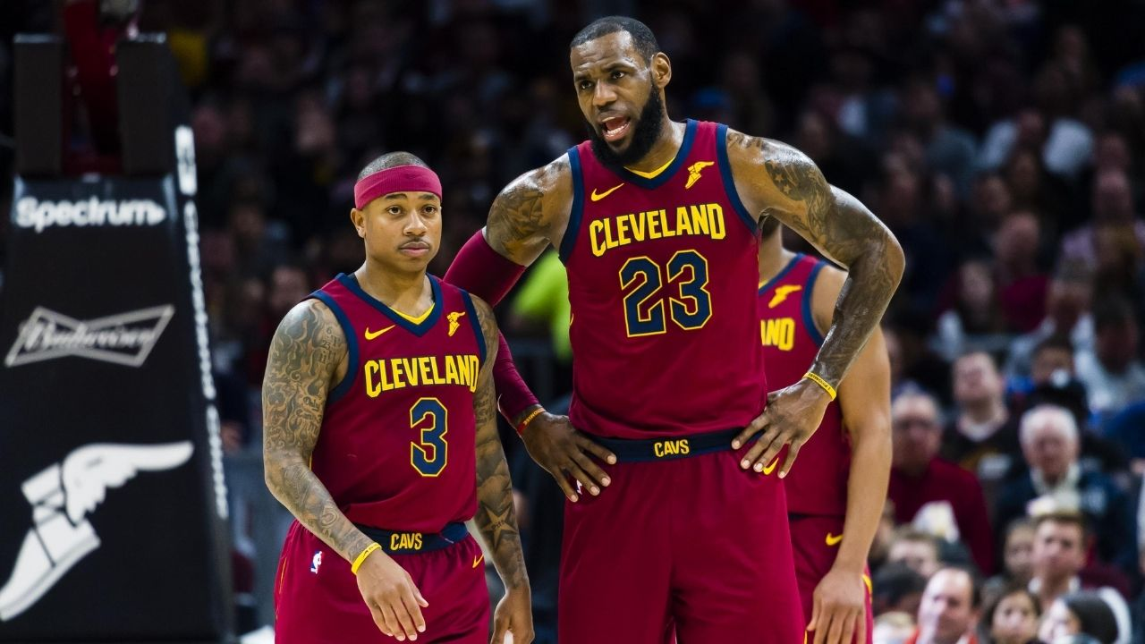 """""""LeGM is at it again, hypes up Isaiah Thomas"""": LeBron James shows love to the former Celtics guard in the midst of Lakers free agency rumors"""