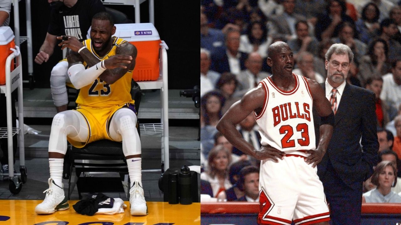 """""""Michael Jordan didn't need a stunt double but LeBron James does?"""": NBA fans criticize the Lakers superstar for having another professional basketball player impersonate him in Space Jam 2"""