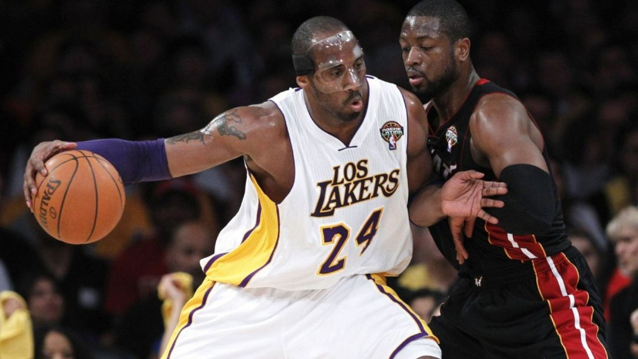 """""""I loved that Dwyane Wade broke my nose"""": How 'masked' Kobe Bryant used an injury get back at the Miami Heat legend during a Lakers game"""