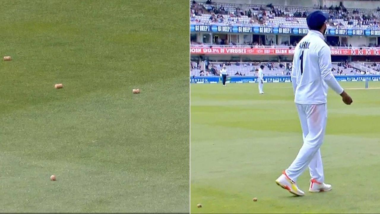 Bottle corks video: Virat Kohli asks KL Rahul to throw bottle corks back into the stands at Lord's