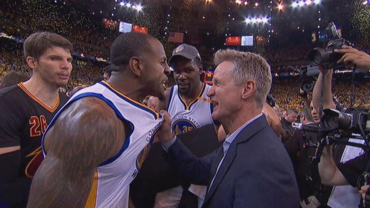 """Steve Kerr, I'm going to Sacramento"": Andre Iguodala played a brilliant prank on Bob Myers and Warriors' Head Coach in 2017 NBA Free Agency"