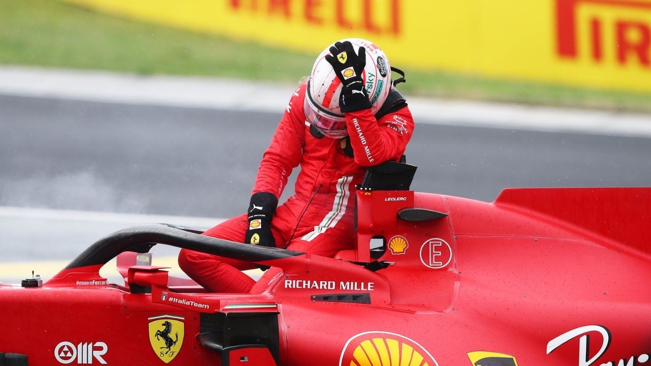 """""""Irreparably damaged""""– Charles Leclerc in line for grid penalty later this year as Ferrari forced to install new engine"""