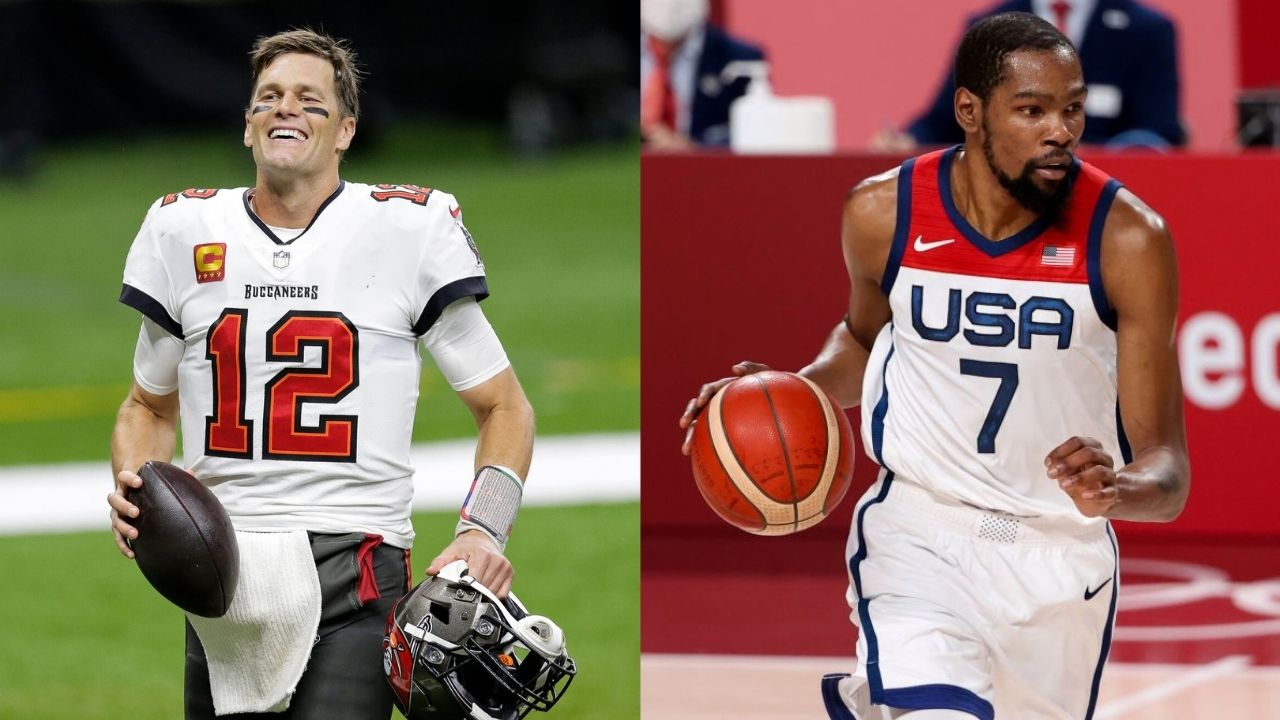 """""""Congrats Team USA!! Gold Medalists!"""": Tom Brady congratulates Kevin Durant, Draymond Green, and rest of Team USA for winning Gold at the Tokyo Olympics"""
