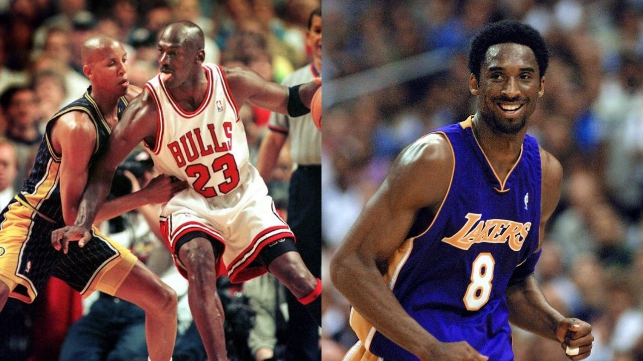 """""""Michael Jordan on his worst day is 10x better than Kobe Bryant on his worst day"""": Reggie Miller had some choice words for the Lakers legend in comparison to the 'GOAT'"""