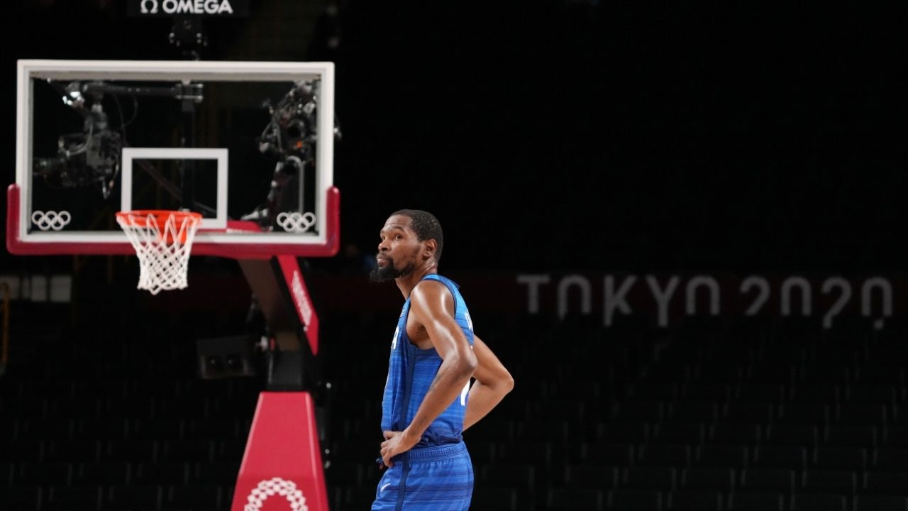 """""""Ricky Rubio and Kevin Durant traded blows like MVPs"""": NBA Twitter reacts to 95-81 victory, with Kevin Durant guiding Team USA with 29 points"""
