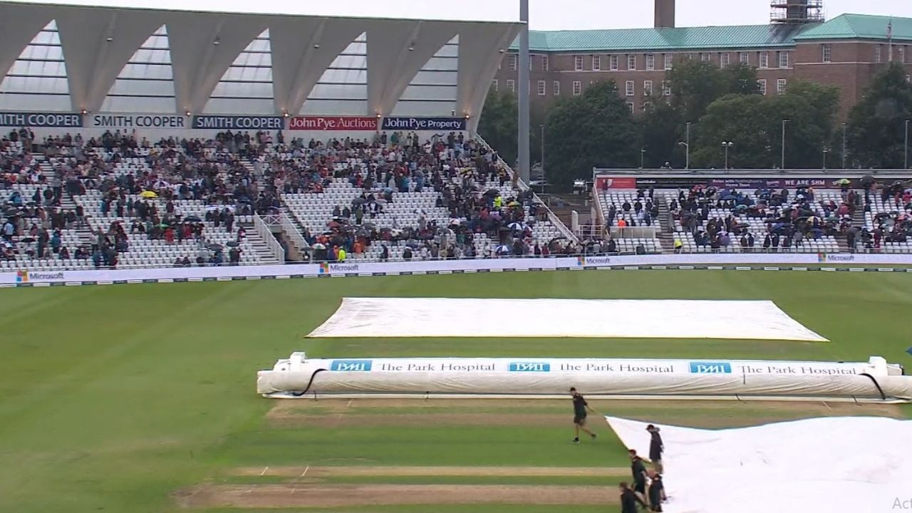 Weather report of Trent Bridge Nottingham: What is the rain forecast for England vs India 1st Test Day 2?