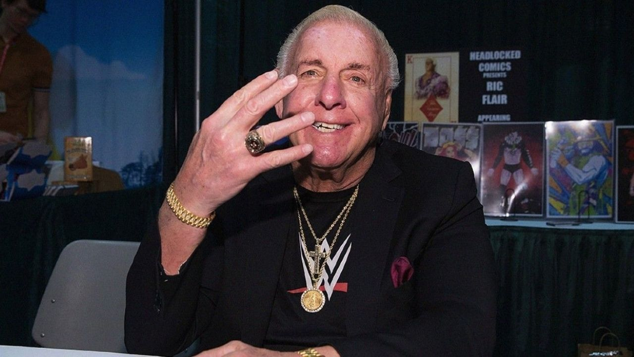 Reason behind Ric Flair asking for his WWE release