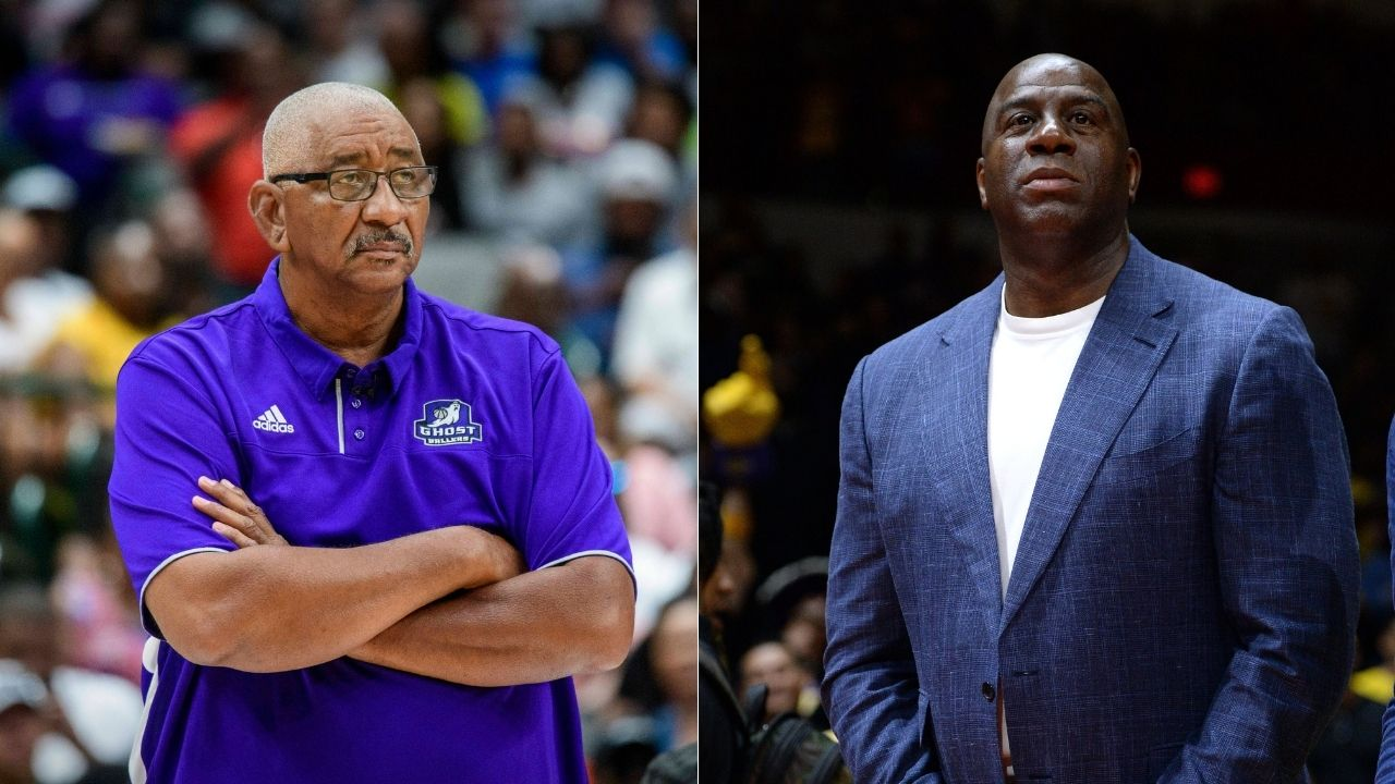 """""""Magic Johnson was making guys around him better at 14"""": When George Gervin described the Lakers legend's potential in high school in a Bill Simmons interview"""
