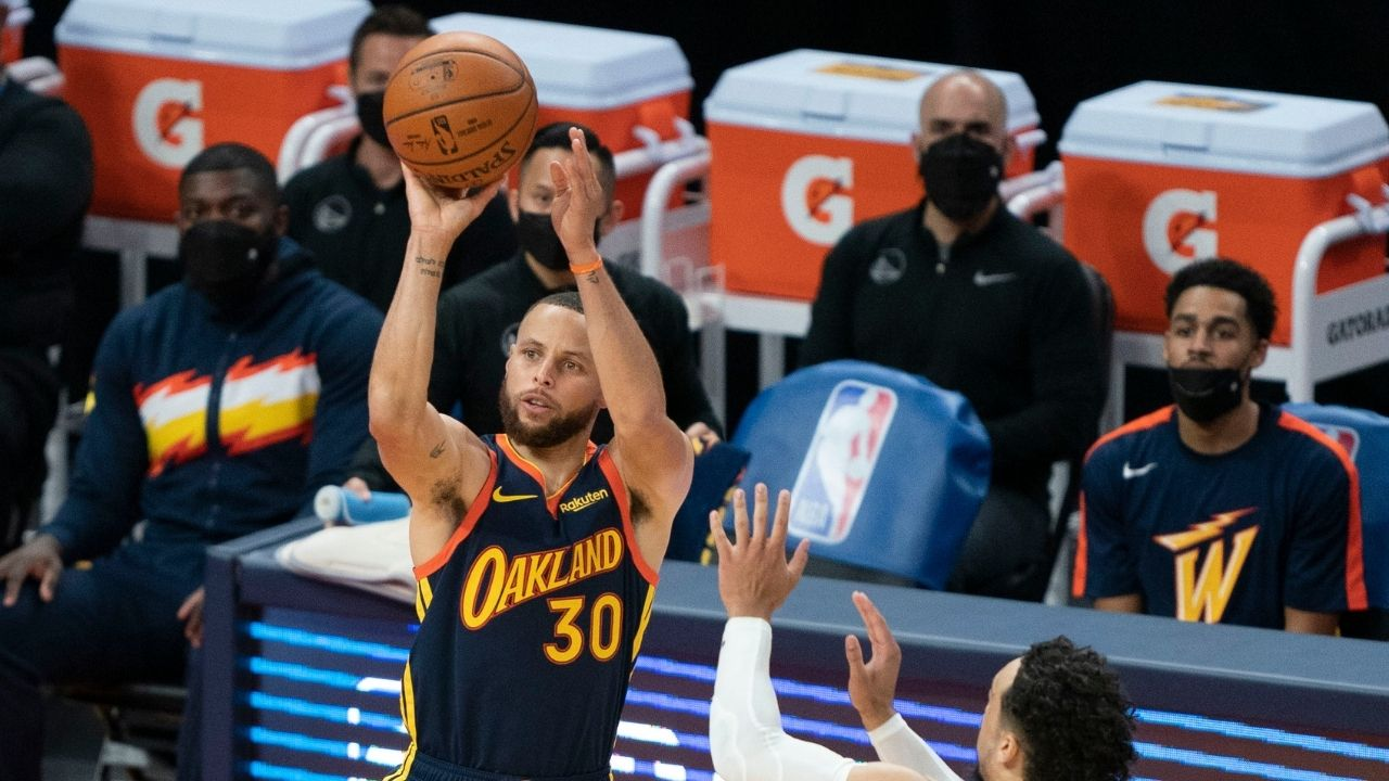 """""""Stephen Curry is on the same tier as Michael Jordan!"""": Stephen A Smith almost shockingly compares the Warriors star to the Bulls legend"""