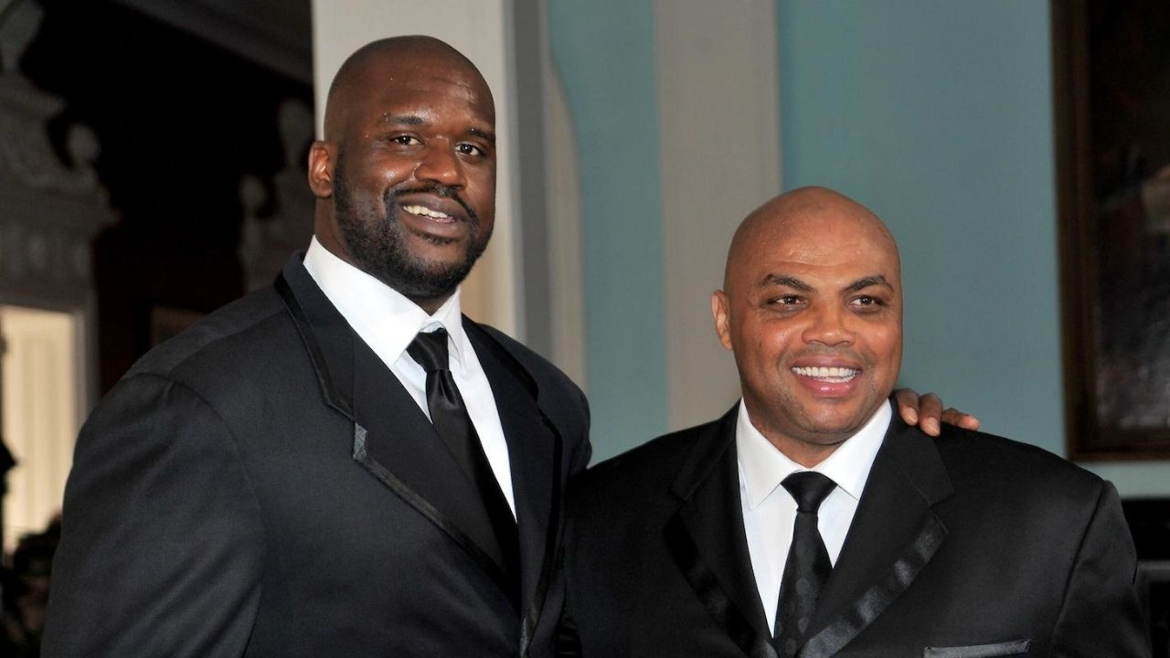 """""""I'm not Mr. Sensitive, I'll knock you're a** out Charles Barkley"""": When Shaquille O'Neal got heated with the Suns legend on NBAonTNT for taking up too much time"""
