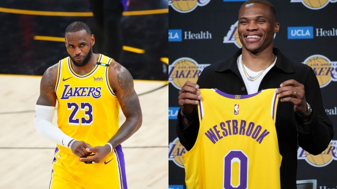 """""""LeBron James is going to admit the Russell Westbrook trade was a mistake"""": Skip Bayless predicts a grim future for the Lakers following 'Brodie's' uneventful stints with Kevin Durant and James Harden"""