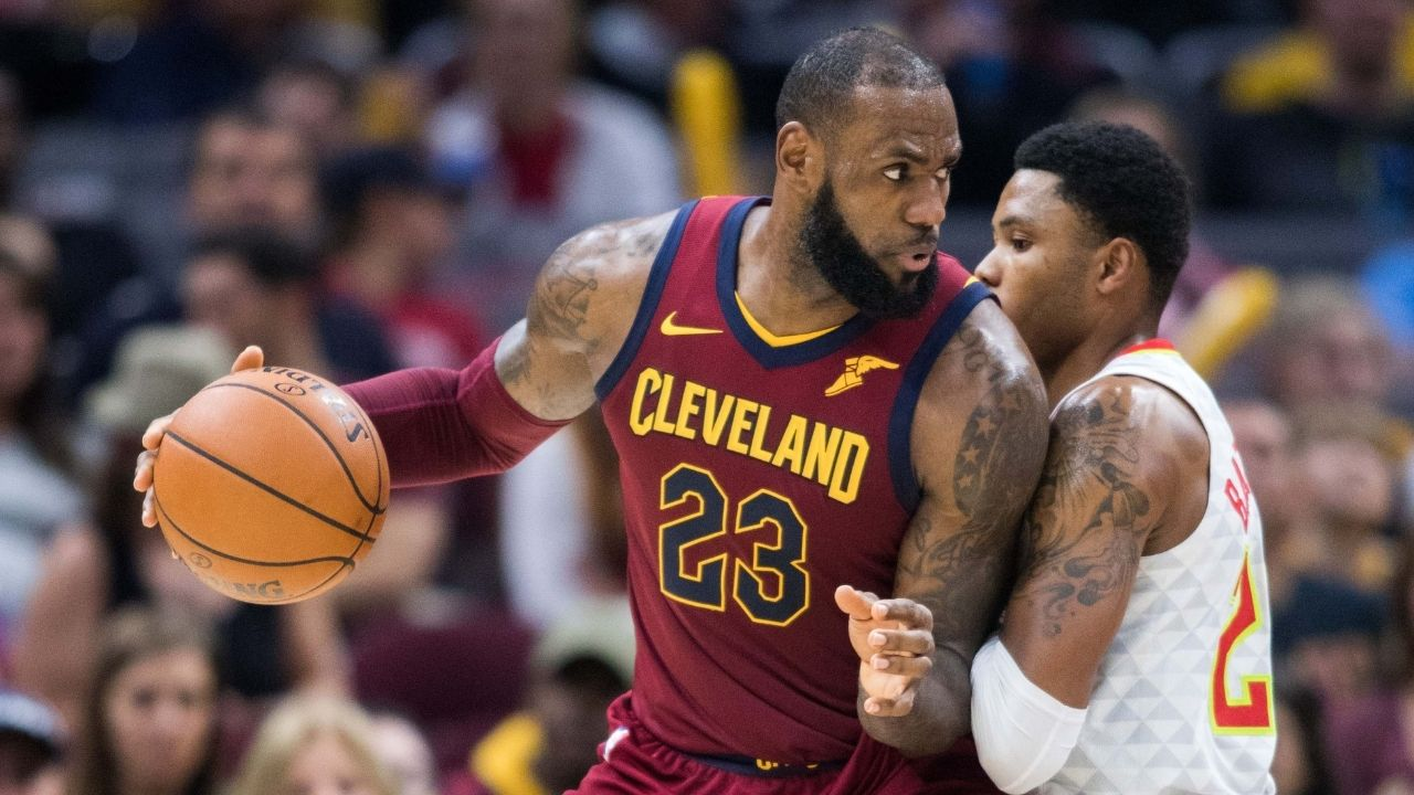 """""""LeBron James has played more playoff games than 50% of NBA teams"""": NBA fan makes astonishing observation about The King's postseason success"""