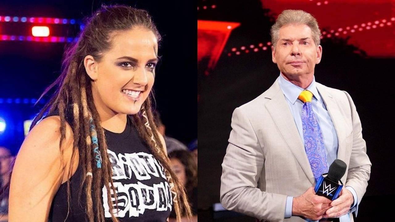 Sarah Logan recalls the time she growled at Vince McMahon