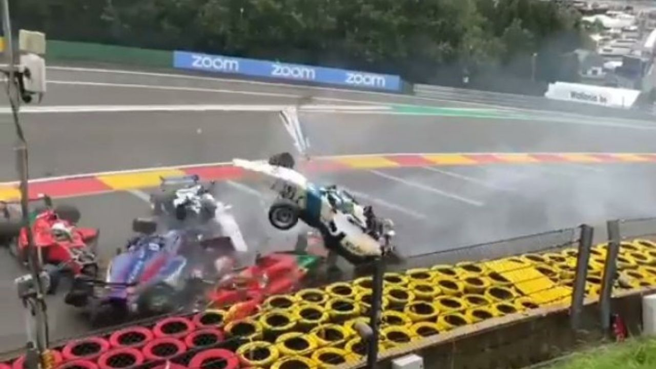 """""""All drivers involved in the incident are undergoing medical assessment""""– Horrific crash at W Series qualifying in Belgium stuns viewers"""