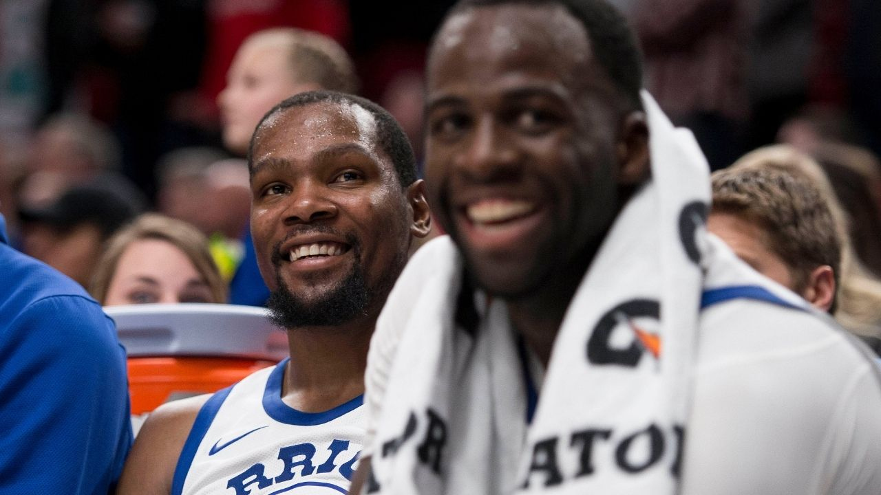 """""""Damn, the Warriors are an underdog franchise, this s**t feels good"""": Kevin Durant reveals his reasoning behind joining forces with Stephen Curry in Golden State"""