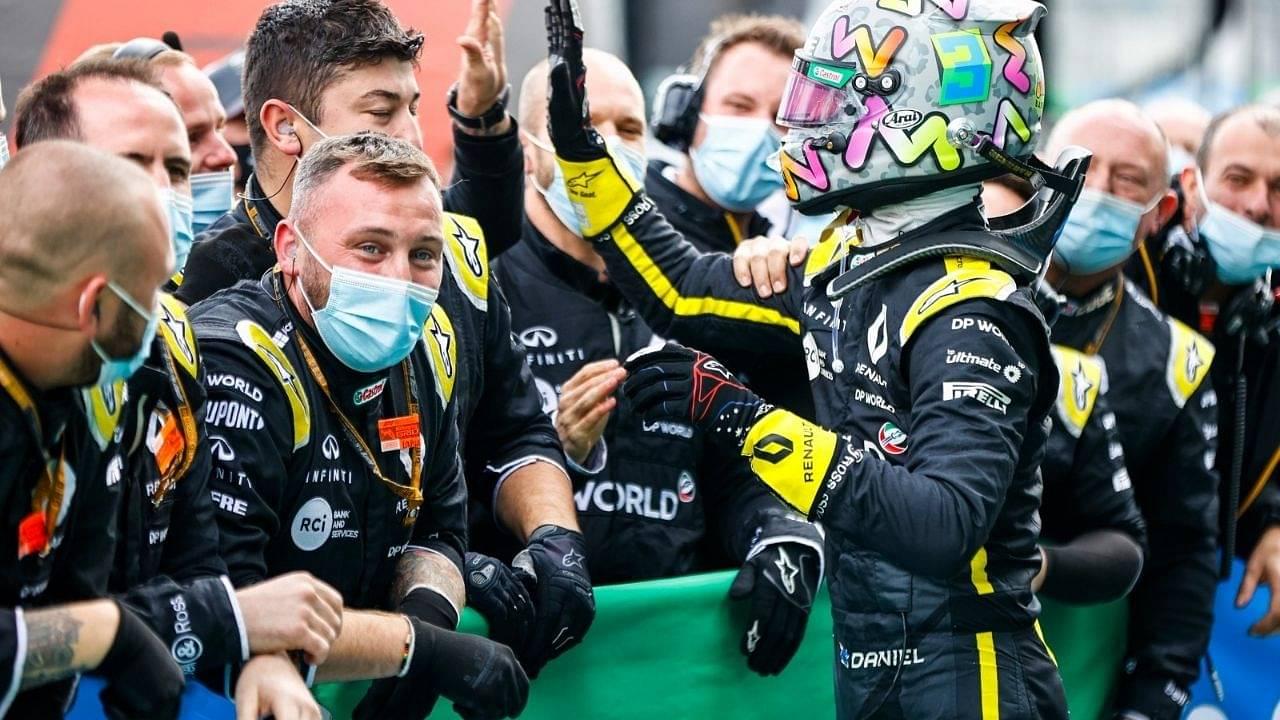 """""""I felt bad""""– Daniel Ricciardo reveals Renault staff was intimidated by him"""
