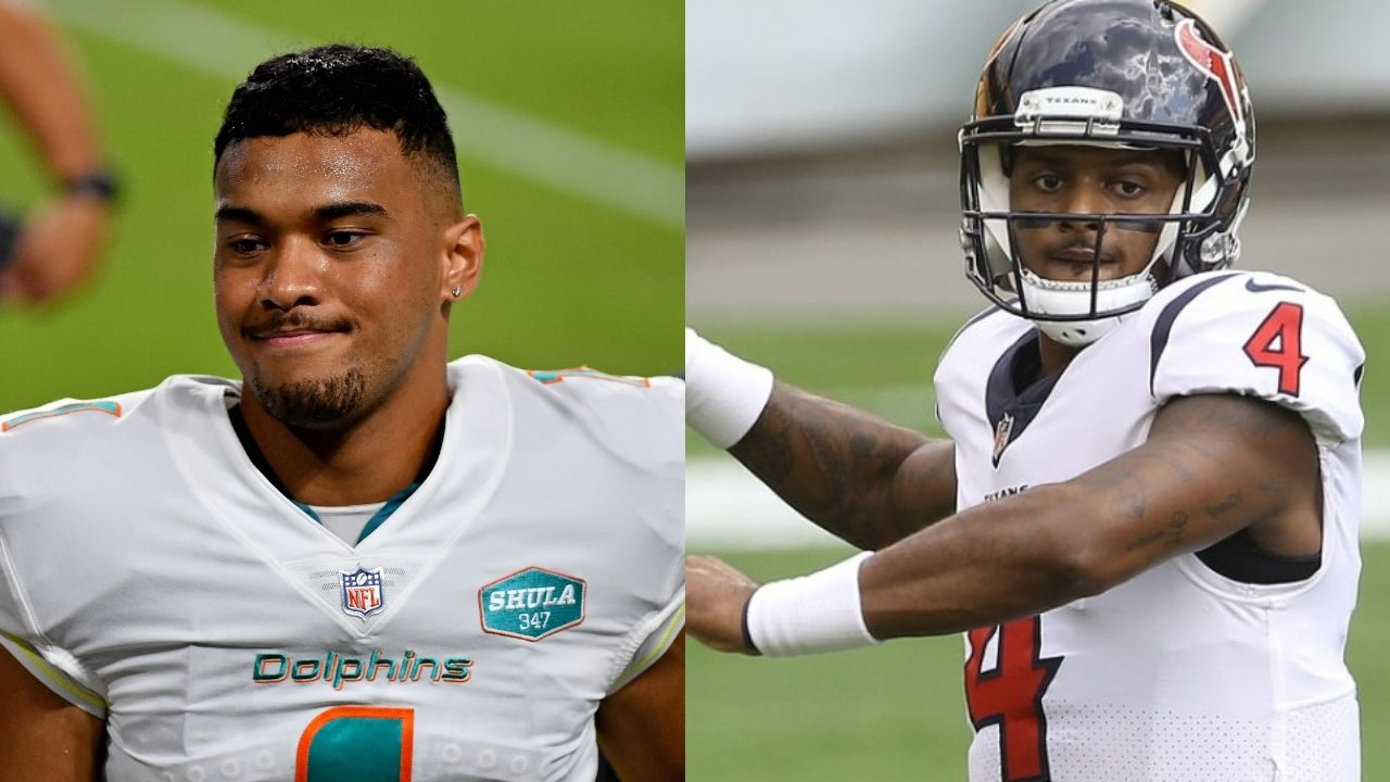 """""""Tua Tagovailoa is our starter, I want to be clear"""": Dolphins GM silences Deshaun Watson trade rumours ahead of 2021 NFL season"""