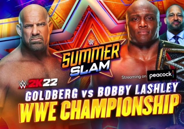 Bobby Lashley vs Goldberg WWE Championship match made official for SummerSlam