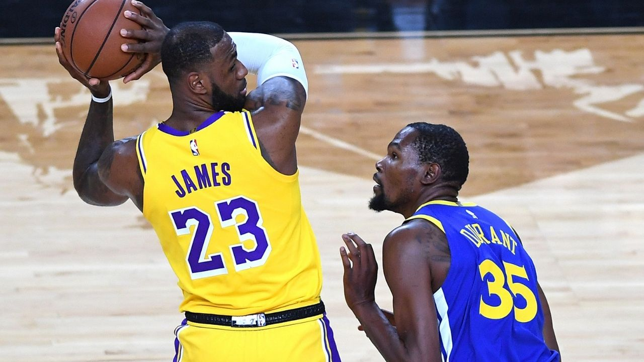 """""""Anything LeBron James does, you guys talk about it like its breaking news"""": When Kevin Durant sided up for the Lakers superstar while on the Bill Simmons Podcast"""