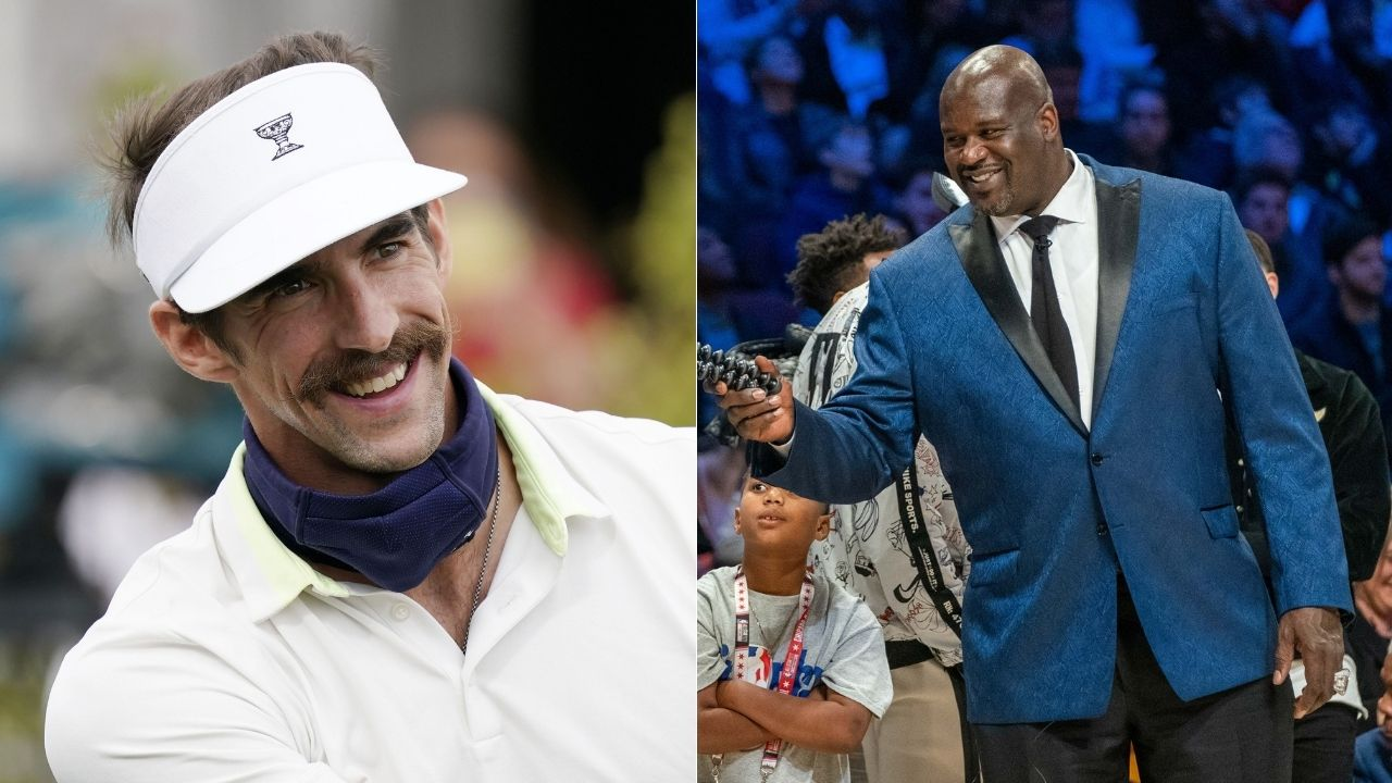 """""""Shaquille O' Neal almost beat Michael Phelps in a swimming competition"""": When 'Shaquaman' competed with greatest swimmer of all time in 3 races"""