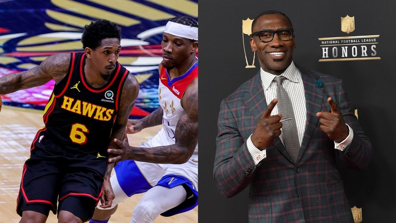 """""""Lou Williams needs to break bread with me for the 'Lemon Pepper Lou' nickname"""": Shannon Sharpe hilariously calls out the Hawks star while talking to DeMar DeRozan"""