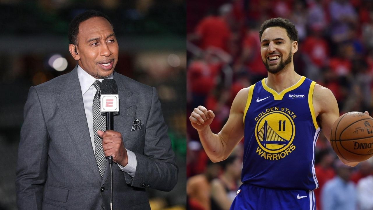 """""""I'm so sick of how little love Klay Thompson gets!"""": Stephen A Smith passionately explains why the Warriors star is easily a top-5 shooter ever"""