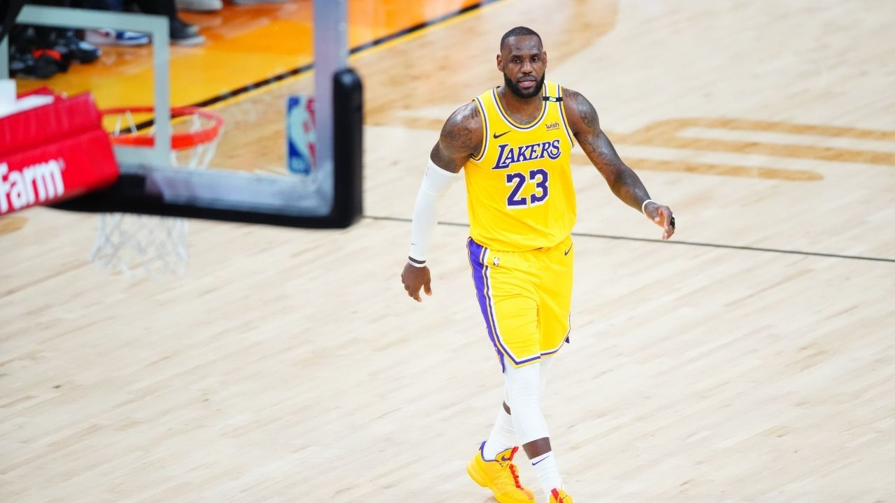 Mark Jackson talks about being ready to cheat and put LeBron James down as the point-guard on his all-time starting five