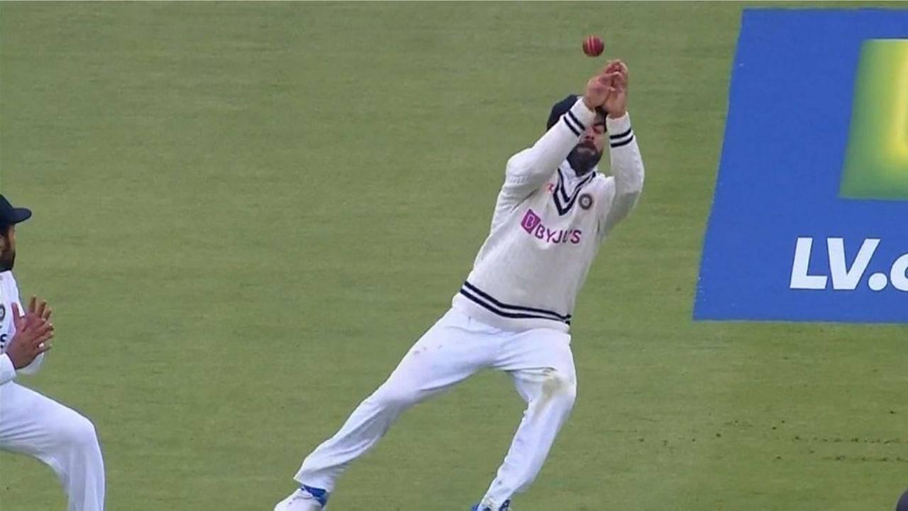 Kohli dropped catches: Virat Kohli makes a blunder at first slip; drops Jos Buttler off Jasprit Bumrah at Lord's