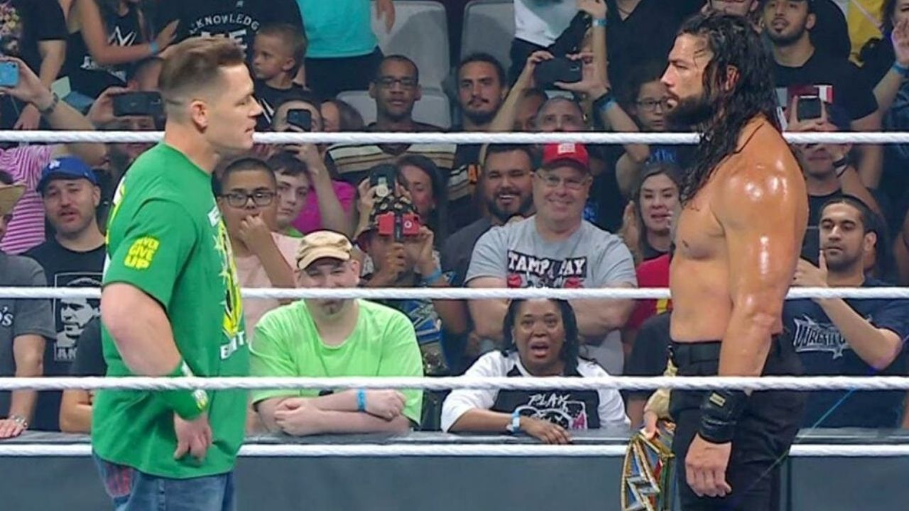 Roman Reigns comments on if John Cena should have turned Heel after becoming Face of the Company