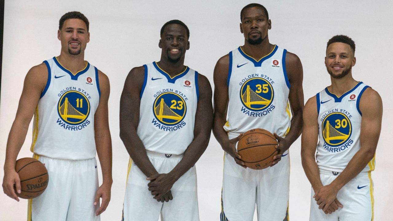 """""""Already seen Stephen Curry, Klay Thompson, Kevin Durant and Green dominate"""": Duncan Robinson breaks down why KD and his top teammates would beat LeBron James and his best teammates"""