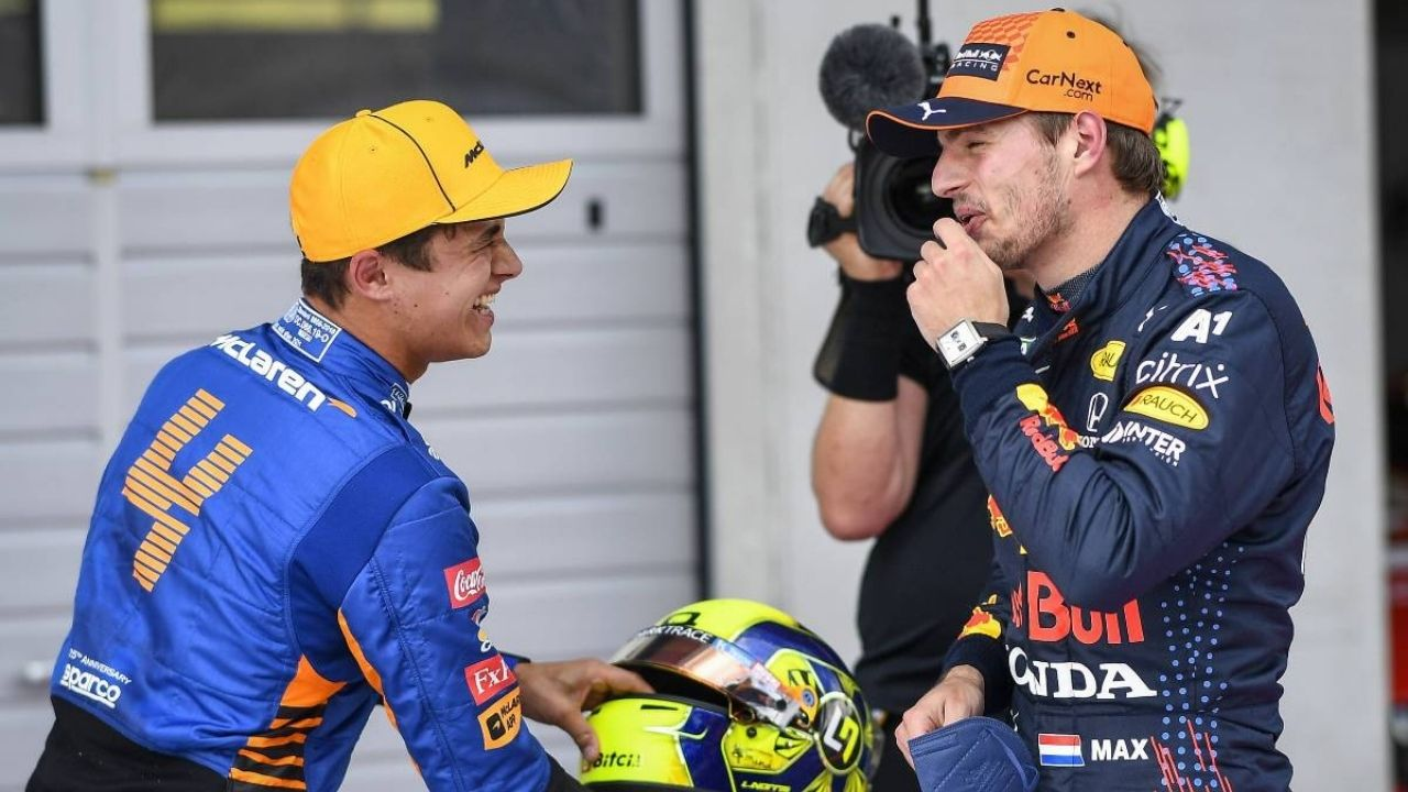 """Great race mate unbelievable drive""– Lando Norris congratulates Max Verstappen for his ""tough win"" in Belgian GP"