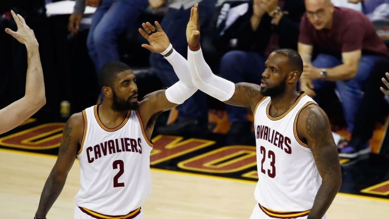 """""""LeBron James and Kyrie Irving were simply bored"""": Richard Jefferson explains why the Cavaliers superstars flipped bottles on the bench as they blew out the Knicks"""