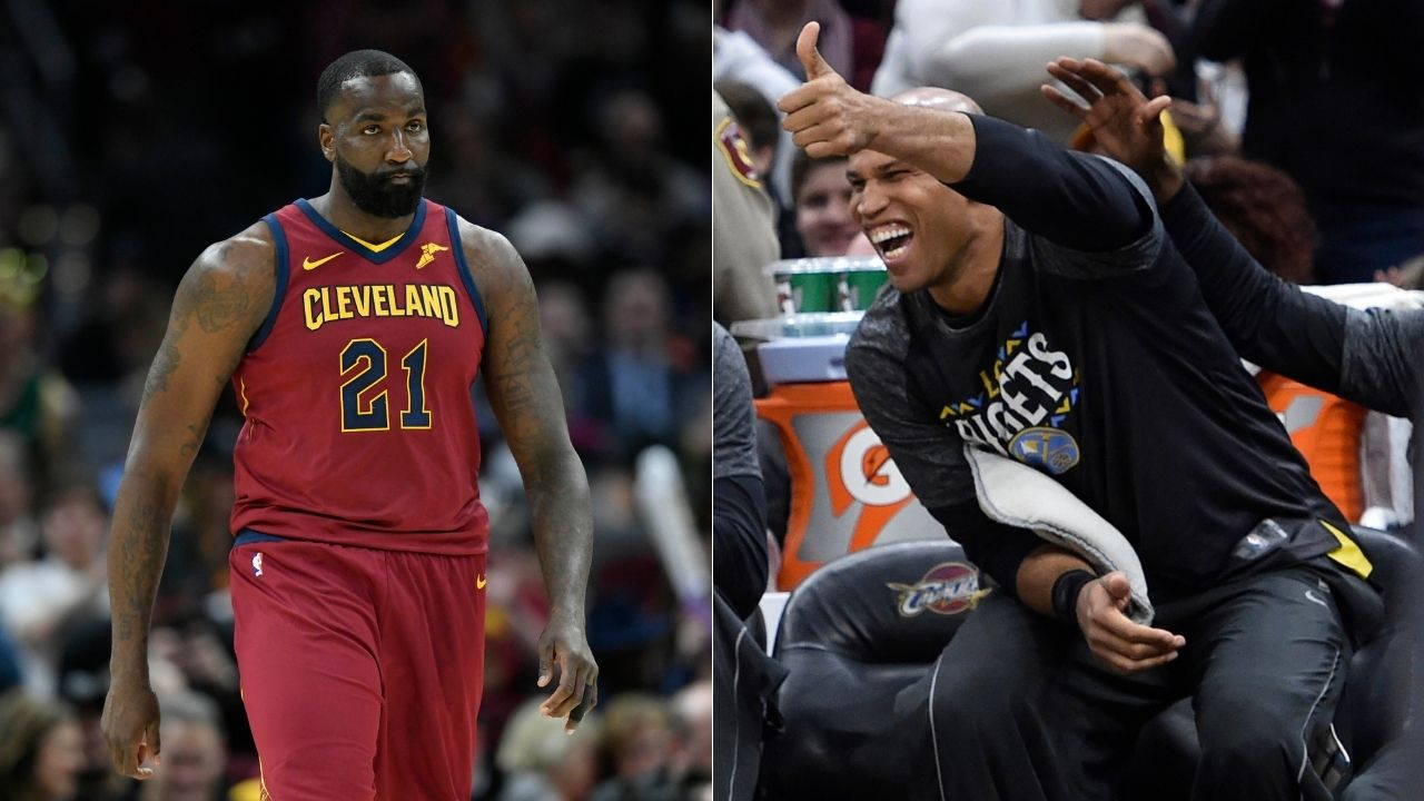 """""""Richard Jefferson is the reason I am looking overweight on national television"""": Kendrick Perkins hilariously calls out Jefferson during a recent episode of The Jump on ESPN"""