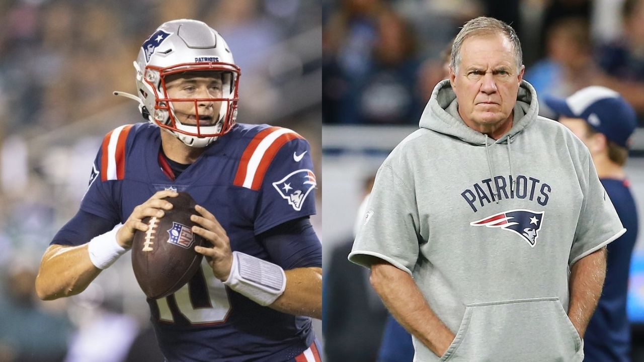 """""""This is a big opportunity for Mac Jones"""": Bill Belichick Drops A Hint About Patriots Starting QB After Cam Newton Gets Suspended From Practicing"""