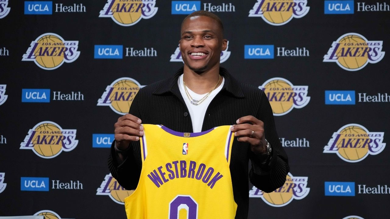 """""""No way 9 PGs in the NBA are better than Russell Westbrook"""": Shannon Sharpe slams Lakers star's rating as the 10th best PG in latest polls"""