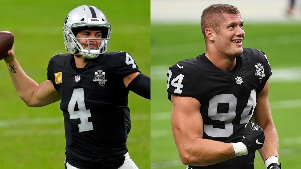 """""""We're still a family when we come in this building."""" Derek Carr Explains Raiders Locker Room Dynamic After Carl Nassib Publicly Came Out as Gay"""