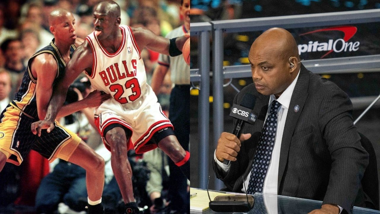 """""""Are y'all kidding me by not taking Michael Jordan?"""": When Reggie Miller snagged the 'GOAT' after Charles Barkley hilariously drafted Allen Iverson in an all-time mock draft"""