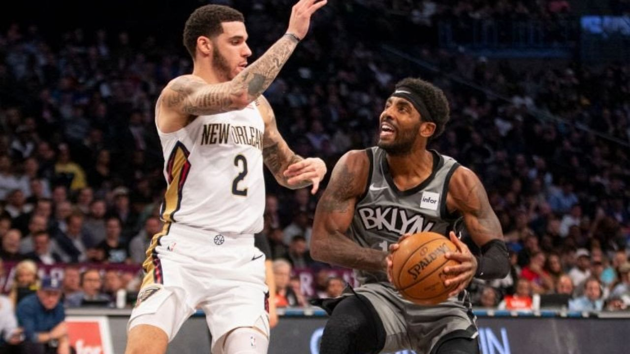 """""""Kyrie Irving has no tendencies"""": New Bulls guard Lonzo Ball describes the harrowing experience of guarding the Nets superstar as a Lakers rookie"""