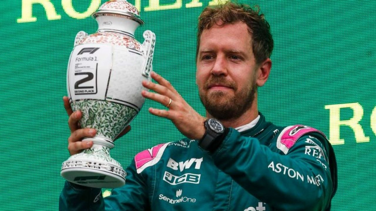 """""""It was bitter, but these are the rules""""– Sebastian Vettel reacts to F1 stripping his podium with Aston Martin during Hungarian GP"""