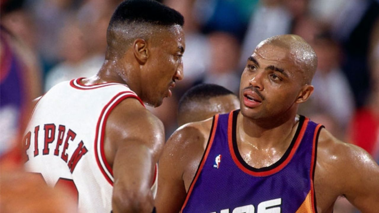 """""""Charles Barkley is a selfish guy and did not have the desire to win"""": Scottie Pippen openly criticized the former Suns MVP following their ugly fall-out in Houston"""