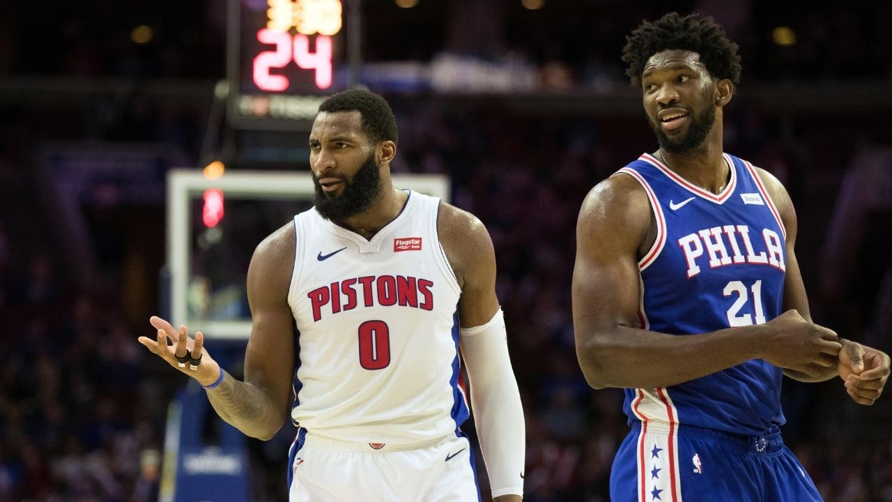 """""""Let's share some real estate!"""": Philadelphia 76ers put out a hilarious tweet referencing beef between Joel Embiid and Andre Drummond while announcing new acquisition"""