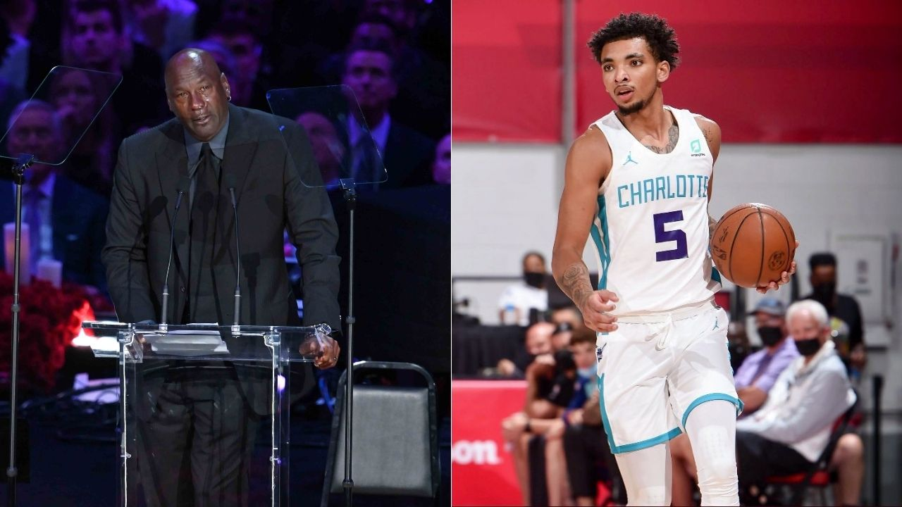 """""""Michael Jordan gave me a call after a bad game"""": Rookie James Bouknight revealed how the GOAT personally gave him a few pointers after a poor performance at the Summer league"""